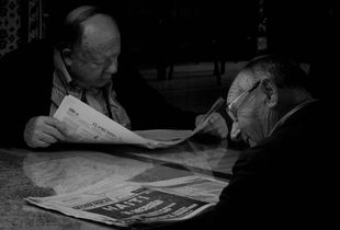 "El Mundo ""Noticias Blanco y Negro"" - The World ""News Black and White"""