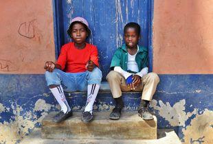 Boys in Africa