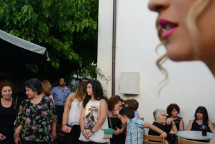 Waiting for the Bride. Anogia, Crete Greece 2015