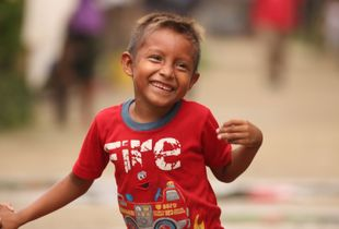 A kuna Yala Kid's smile