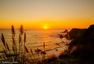 Casket Rock Sunset