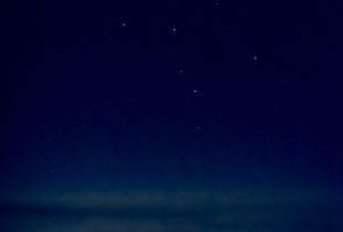 Across The Night Sky -Blue