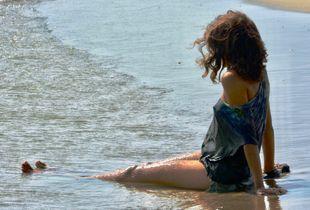 Magic on the seashore