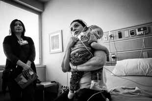 Mother and Child.  Children's Medical Center.  Dallas, TX.  2010.
