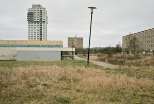"""Halle-Neustadt #3, from the series """"Utopia."""" © Johannes Twielemeier. Chosen for the LensCulture Street Photography Awards Top 100."""