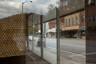 Appalachia: Mountain tops to Moonscapes. A deserted Shop front in Appalachia, Virginia. USA.