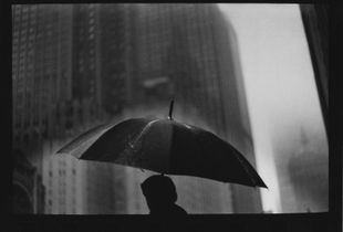 Untitled (Man Umbrella ), 2017