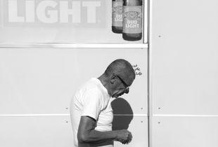Gas Station Customer. Phoenix, AZ. 2018.