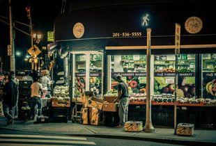 Bergen St Fruit Market