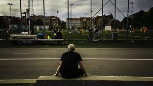 fotboll på heden