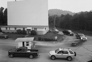 Sunset Drive-in Theater, Shinnston, WV, 2002