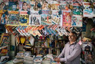 Magazine Stall Owner