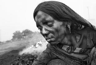 Lata. Modern day coal slave.