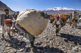 Tajikistan. Smuggler