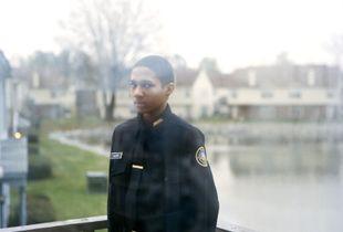 """Sharrod (balcony). From the series """"I slowly watched him disappear"""" © Jason Hanasik"""