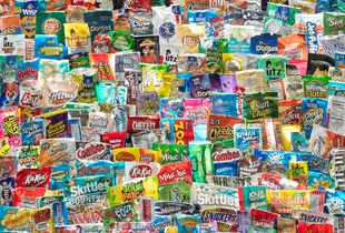 Chip Bags and Candy Wrappers