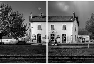 Assier gare : Figeac-Brive 19h32 Brive-Figeac 19h33