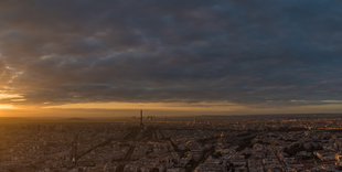 View from Montparnasse, Paris
