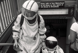 Student of Life: Astronauts. © Andres Petruscak. Chosen for the LensCulture Street Photography Awards Top 100.