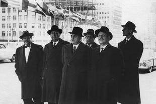 The Sicilian Delegation, 1957