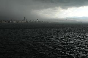 Storm over Izmir