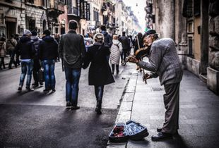 the Violinist (Rome)