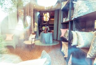 Fortuny showroom. Giudecca, August 19, 2017