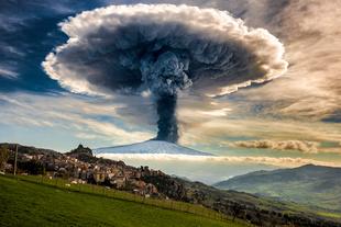 Etna Explosion.
