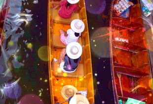 FLOATING  MARKET_   BANGKOK