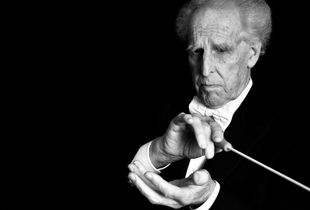 Conductor Benjamin Zander Portrait Session