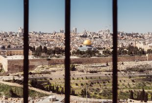 View of the Old Town of Jerusalem from the Mount of Olives