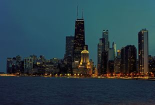 Chicago Blue Hour (I)