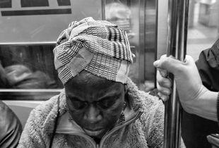 In transit, passenger