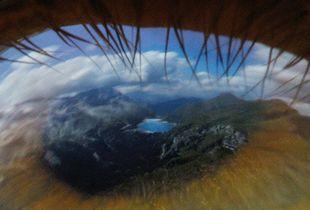 Mountain Lake Fedaia, photo series Eyescapes