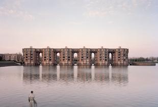 Jacques, 82, Le Viaduc et les Arcades du Lac, Montigny-le-Bretonneux, 2015. Finalist, LensCulture Exposure Awards 2015.