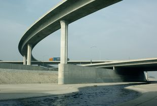 105 Freeway to 710 Freeway Connectors, Compton