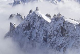 Summer in Chamonix.  The view.
