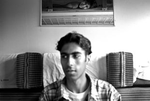 After fourteen months of stay in Istanbul looking for work and study possibilities, A. and his sister are being deported from Turkey to Iran, Istanbul - Teherean train, Turkey, 2001