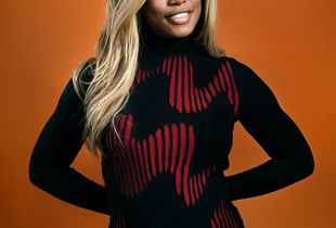 Actress and activist Laverne Cox, 2017