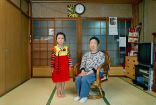 SAIESEO, Great-grandmother and I, 2008© KIM Insook