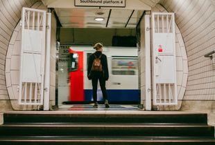 Grabbing the tube
