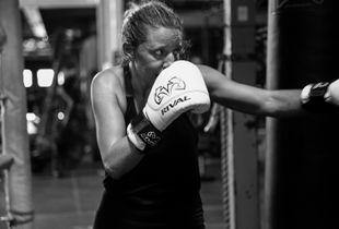 Michelle, the Boxer.
