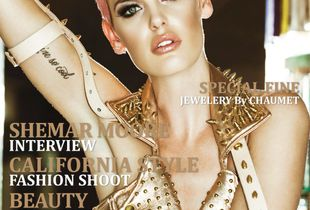 Out Now! Cover - Fashion Issue #22-23 Prestige International Magazine