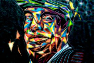 Pablo Neruda recreated