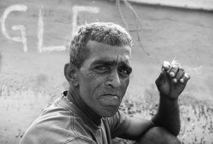 Street man, Galle
