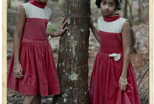 Nora and Nova. 8 years old. From Pala, Kerala. Finalist, LensCulture Exposure Awards 2015.