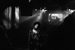 Yazz on the dance floor, Brixton, London, 2016