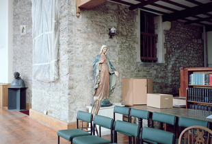 Library, Buckfast Abbey 2016.