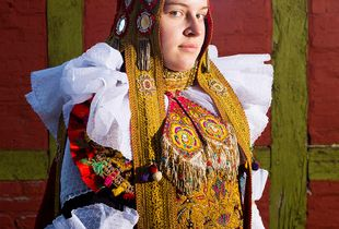 Traditional Wedding Couture in Germany: The Bridal Dress of Lindhorst