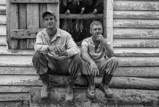 Hombres de Tabaco